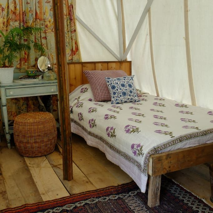 Check out this awesome listing on Airbnb: Canvas Tent at World's End - Tents for Rent in Cold Spring