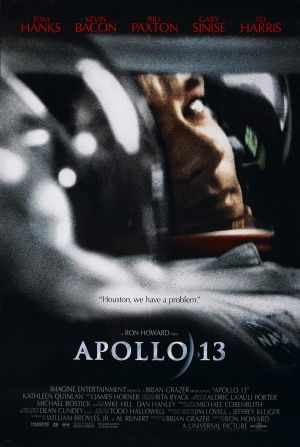 """Apollo - """"Houston we have a problem"""" stranded 205,000 miles from earth in a crippled spacecraft, the astronauts fight a desperate battle to survive."""