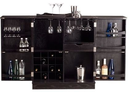 contemporary bar tables by Crate