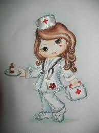 pintura em tecido -n enfermeira - Pesquisa Google