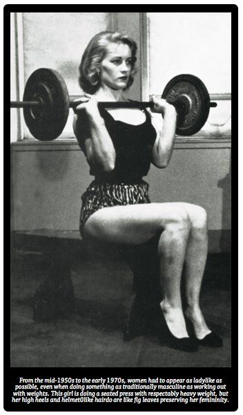 #vintage #workout in her #heels