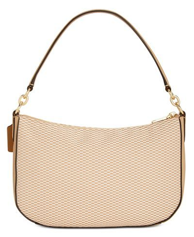 c93538395378 COACH Legacy Jacquard Chelsea Crossbody - Coach Handbags - Handbags    Accessories - Macy s