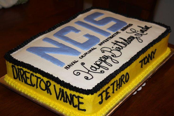 NCIS Birthday Cake — Birthday Cakes