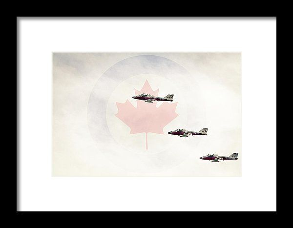 Canadian Air Force Snowbirds Framed Print by Mc. All framed prints are professionally printed, framed, assembled, and shipped within 3 - 4 business days and delivered ready-to-hang on your wall. Choose from multiple print sizes and hundreds of frame and mat options.