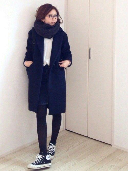 TONALのチェスターコート「【CLASSY. 12月号掲載】ビーバーチェスターコート」を使ったmayumiのコーディネートです。WEARはモデル・俳優・ショップスタッフなどの着こなしをチェックできるファッションコーディネートサイトです。