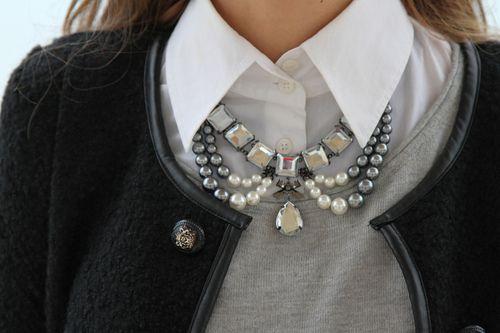 Algumas tendências de colares