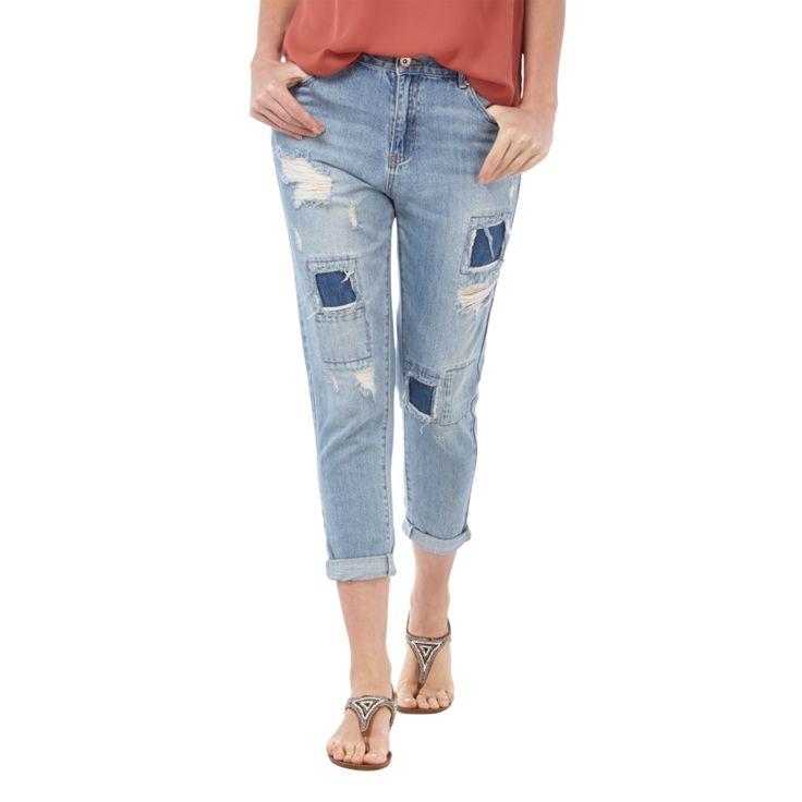 ber ideen zu boyfriend jeans damen auf pinterest destroyed jeans damen damen t. Black Bedroom Furniture Sets. Home Design Ideas