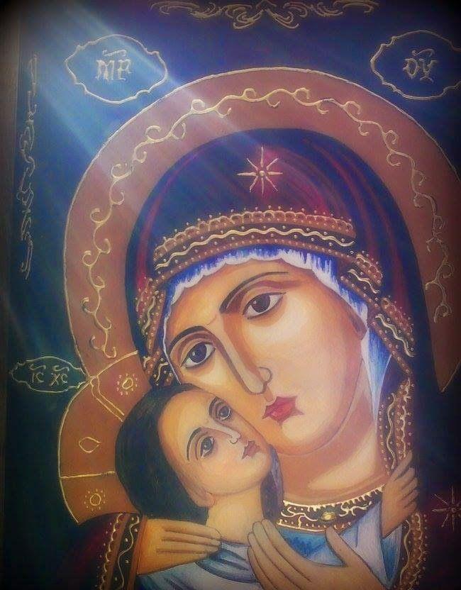 Πνευματικοί Λόγοι: Θεογεννῆτορ, Παρθένε, σῦ μὲ κυβέρνησον ...