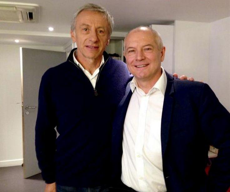 Avec Jean-Christophe Rufin.