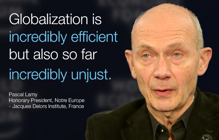 #Globalization is incredibly efficient but also so far incredibly unjust. - Pascal Lamy in #Davos at #wef15