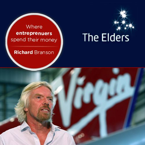 """Richard Branson, the founder of Virgin Group of Companies has also laid the foundation for """"The Elders"""" - a charity group, partnering with Nelson Mandela and Peter Gabriel.   Branson supports and is involved in various other charities like Education in Kenya, Soldiers for peace and has served on the global commission on drug policy.   Inspired? Tell us what are your giving goals for the society in 2014?"""