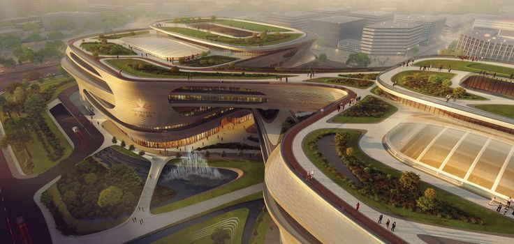 Guangzhou Infinitus Plaza - Architecture - Zaha Hadid Architects