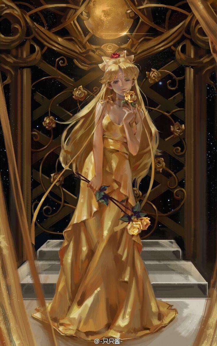 Sailor Venus by -只只酱-
