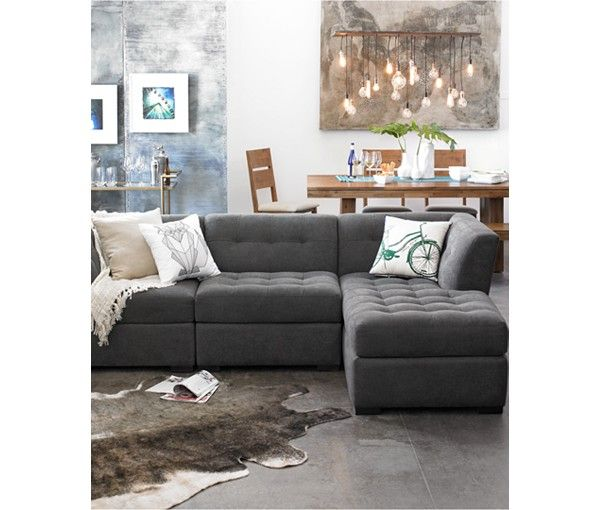 Roxanne Fabric Modular Living Room Furniture Collection with Sets & Pieces - Shop All Living Room - Furniture - Macy's