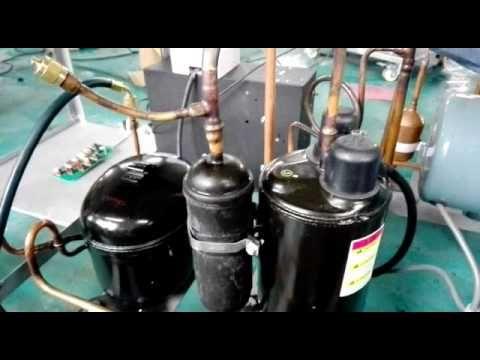 Fried ice cream machine operation guide - YouTube