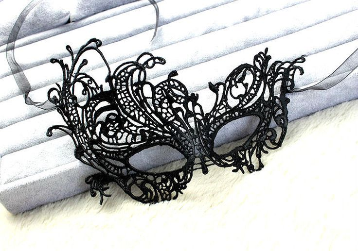 High quality Sexy Black Lace Mask Party Ball Masquerade Mask Dress Mask Black