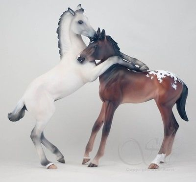 breyer customs | new from sakori s customs drastic custom breyer gilen heartbreaker