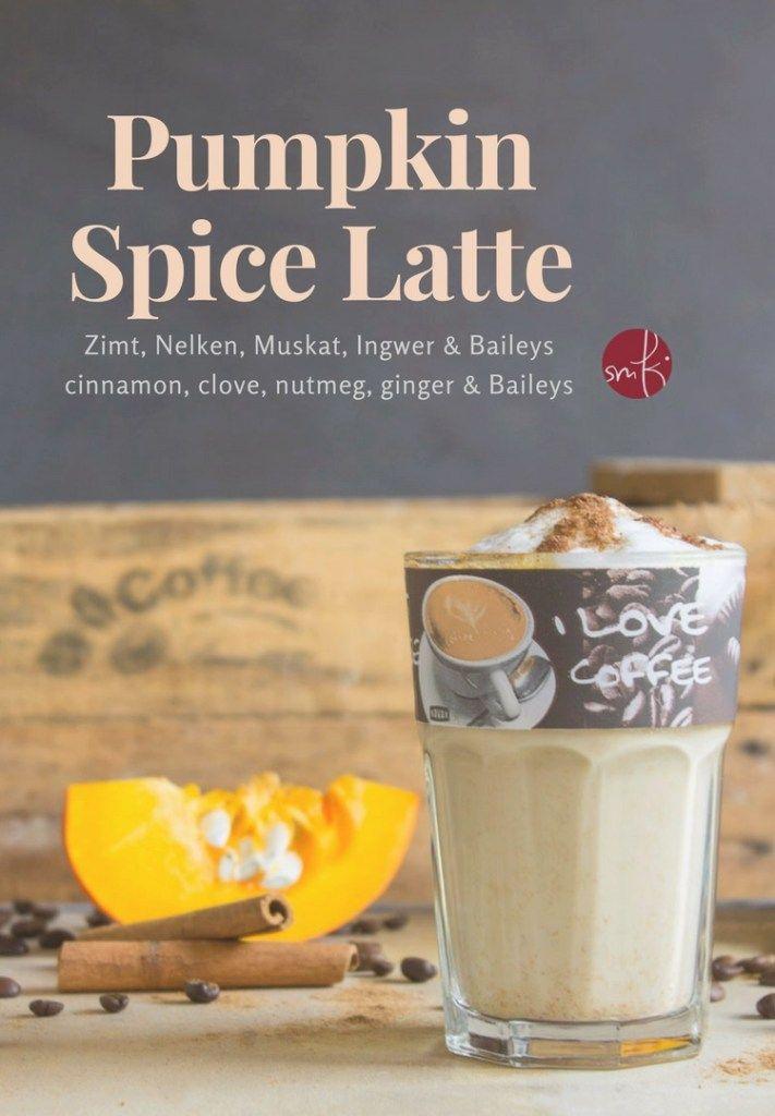 Pumpkin Spice Latte: coffee & Baileys! #pumpkin