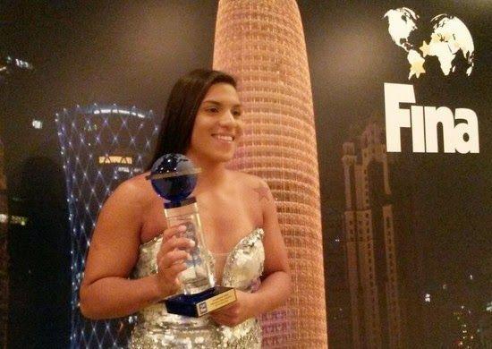 Blog Esportivo do Suíço: Ana Marcela e Allan do Carmo são eleitos os melhores do ano pela Fina