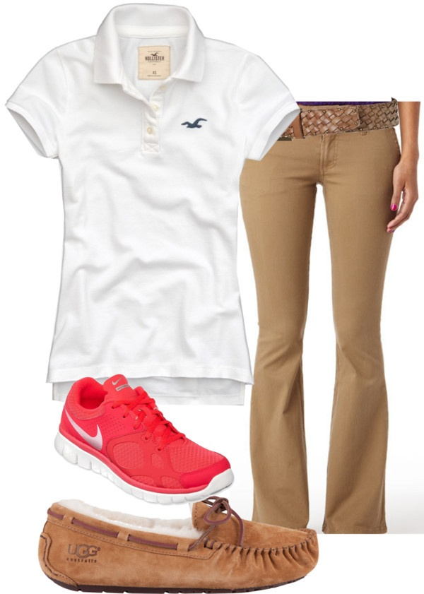 """My school uniform"" by rebeccanonnenmann on Polyvore THIRD DAY MATERIAL"