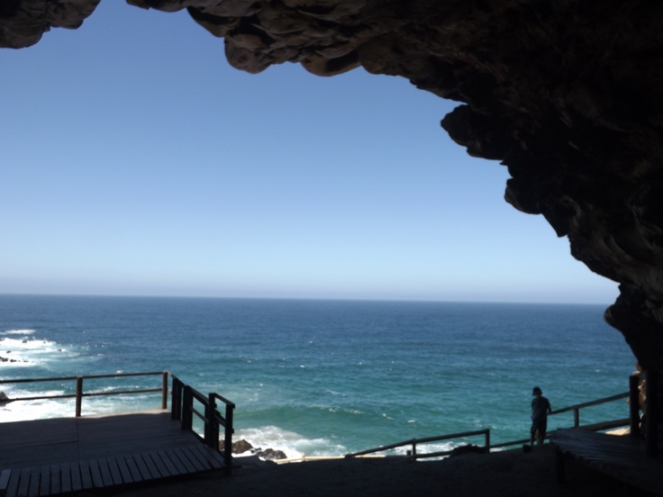 View out to the ocean from Cape St. Blaise cave