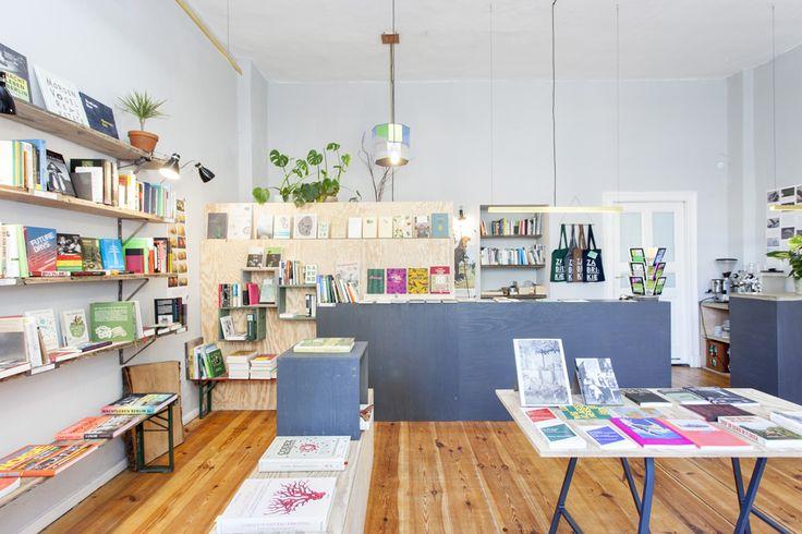 Zabriskie - Buchladen für Kultur und Natur, Berlin Interior Design: Richter  Lutze www.zabriskie.de www.richterlutze.de