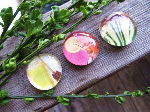Tea Trio magnets, perfect for spring! $8.50: Trio Magnets, Teas Trio, Cookie S Jars