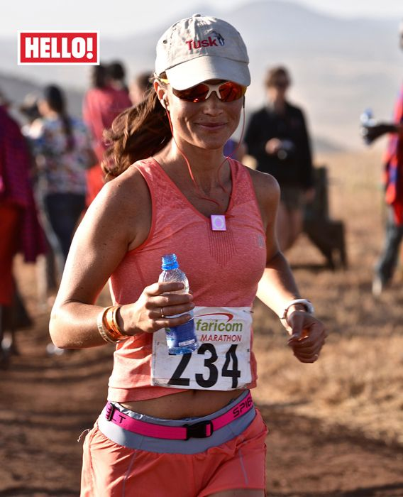 July 12, 2015 Pippa Middleton talks to HELLO! about completing her first marathon - Photo 1 | Celebrity news in hellomagazine.com