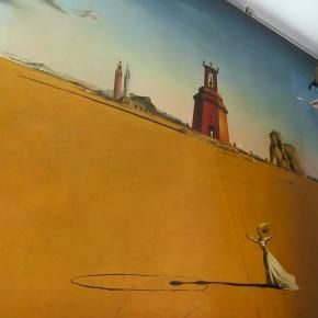 Salvador Dalí's 'Landscape with a Girl Skipping Rope' (1936) is back on view at Museum Boijmans Van Beuningen!