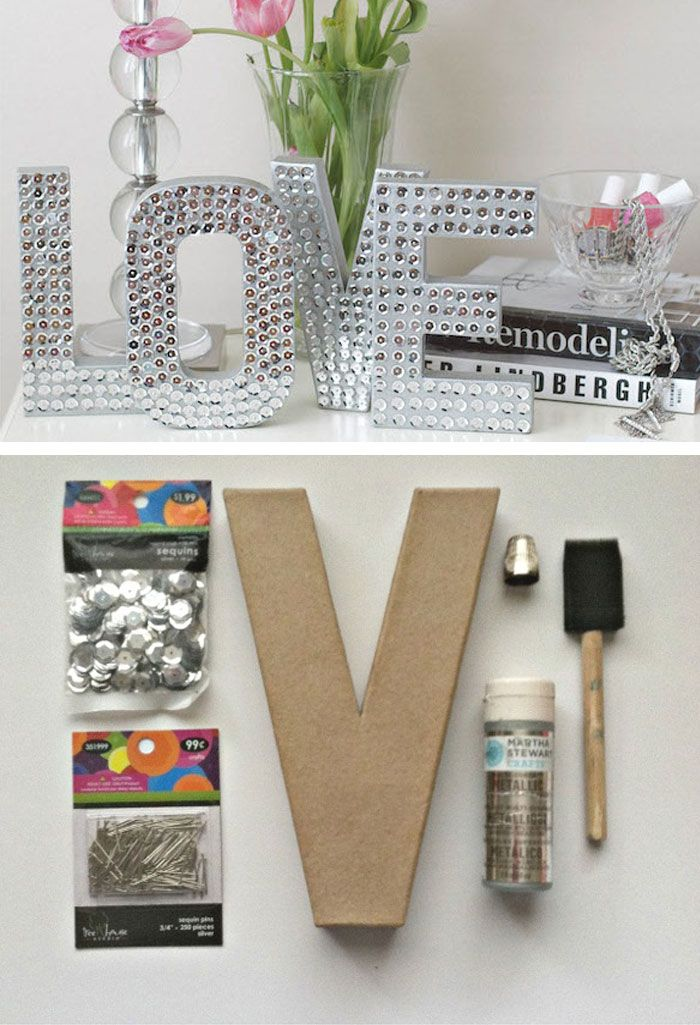 Disco Love Sign | Click Pic for 24 DIY Christmas Gifts for Teen Girls | Handmade Gift Ideas for Teen Girls