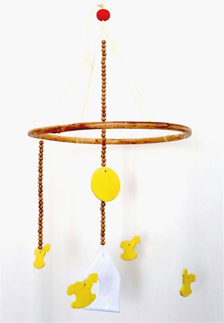 Unisex Baby/Children's Mobile. Nursery Art. Baby Shower