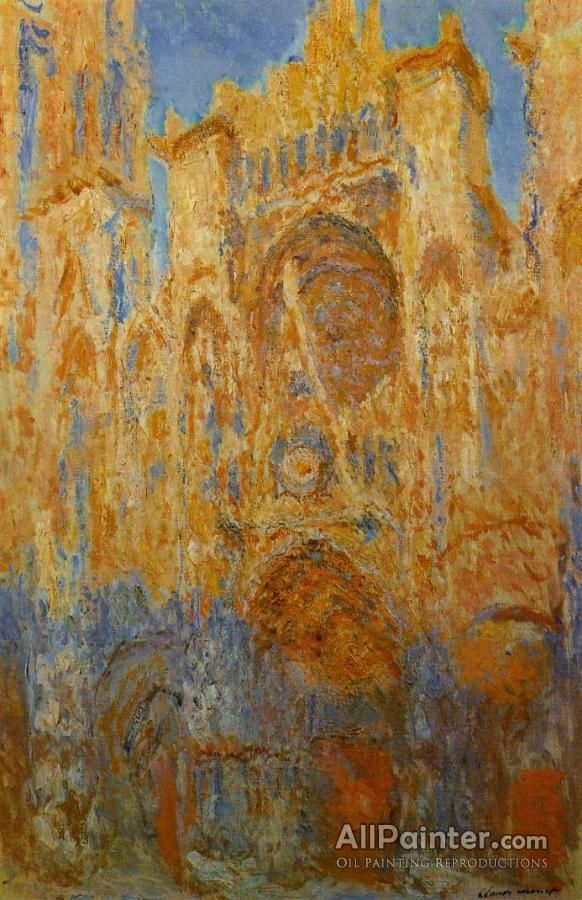 Claude Monet Rouen Cathedral oil painting reproductions for sale