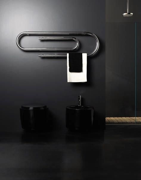 Love this paper clip towel rail