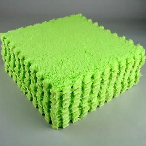 Color: Green New 9pcs Pile Floor Covering Eva Foam Puzzle Floor Mats Play Mat Gym Baby Kids   eBay