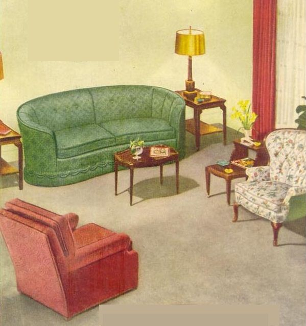 92 Best Images About 1940s Living Room On Pinterest