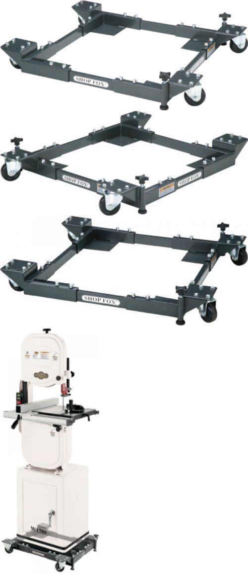 Planers 177002: Adjustable Mobile Base W Wheels Shop Bandsaw Drill Press Table Saw Platform -> BUY IT NOW ONLY: $89.99 on eBay!
