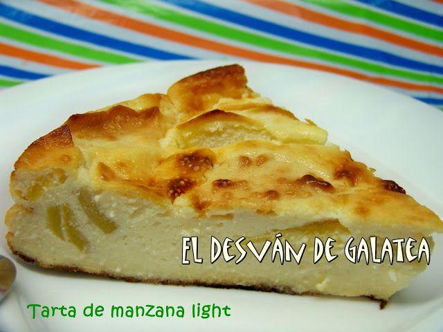 TARTA DE MANZANA LIGHT http://eldesvandegalatea.blogspot.com.es/2013/03/tarta-de-manzana-light.html