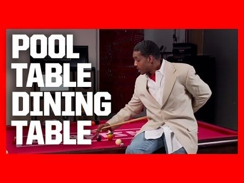 How to build a pool table dining table youtube diy for How to build a billiard table