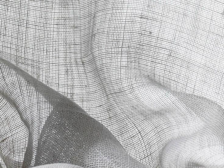 Tessuto a tinta unita lavabile in lino per tende BELES by Dedar