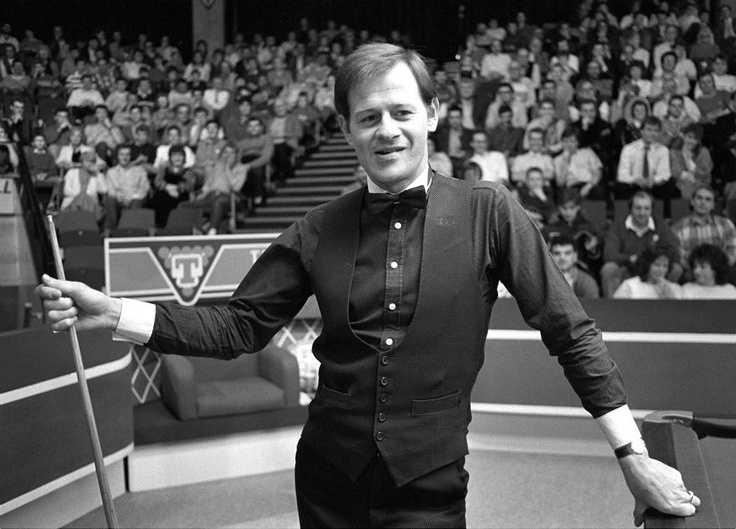 And former world snooker champion, Alex Higgins
