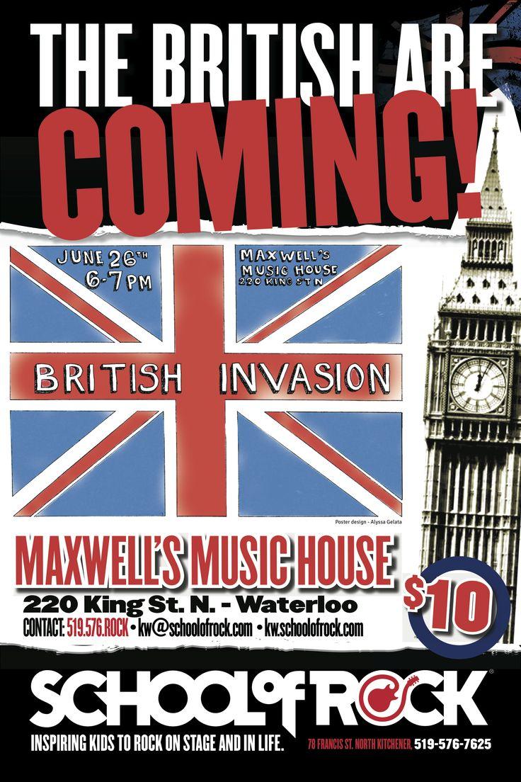 School of Rock Kitchener-Waterloo's first Show June 26, 2014