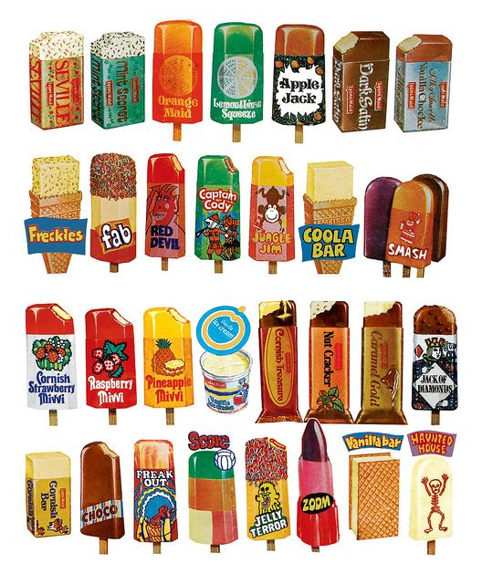 Retro Ice Lollys by The Moog Image Dump, via Flickr