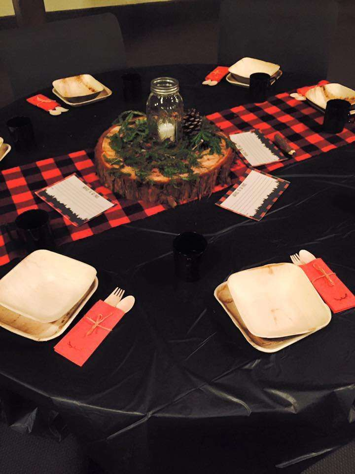 The Little Lumberjack | CatchMyParty.com