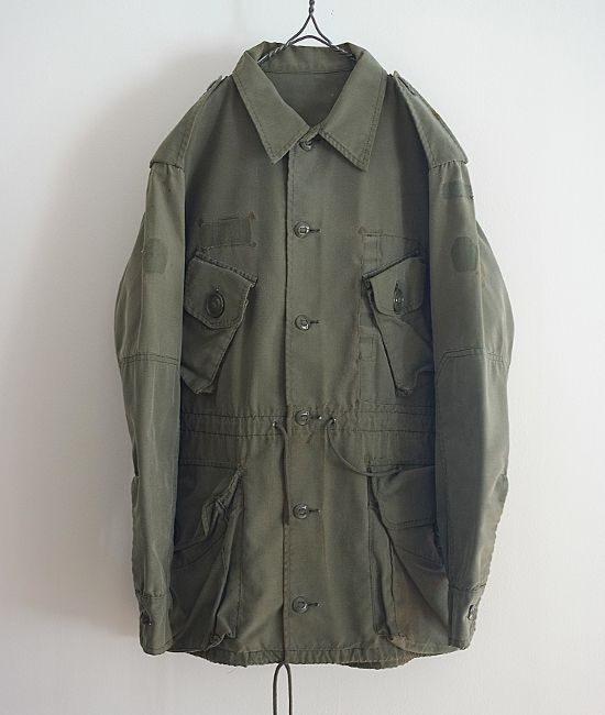 LILY1ST VINTAGE 1960'S CANADIAN MILITARY DAMAGED SHIRT JACKET http://floraison.shop-pro.jp/?pid=71495712