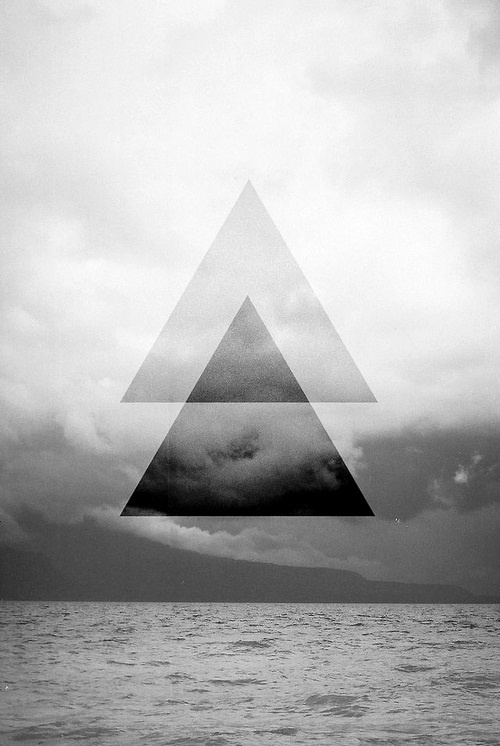 275 best images about Art: Landscape - Geometric on Pinterest Inverted Triangle Wallpaper
