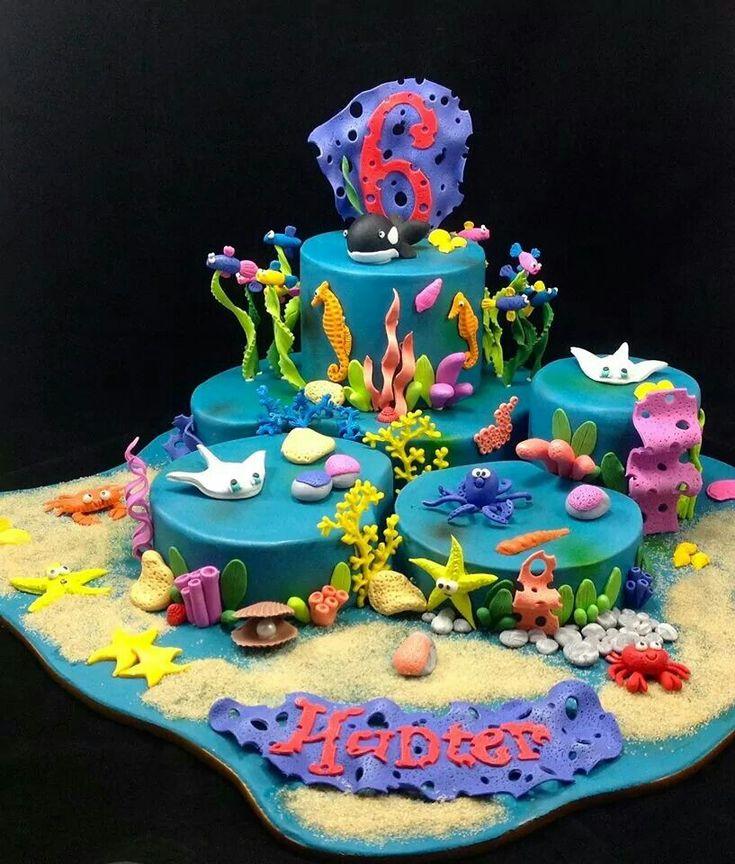 The 464 best images about Ocean beach underwater mermaid cake