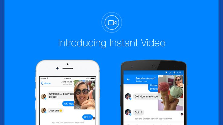 Facebook Adds Instant Video to Messenger Is This a Skype