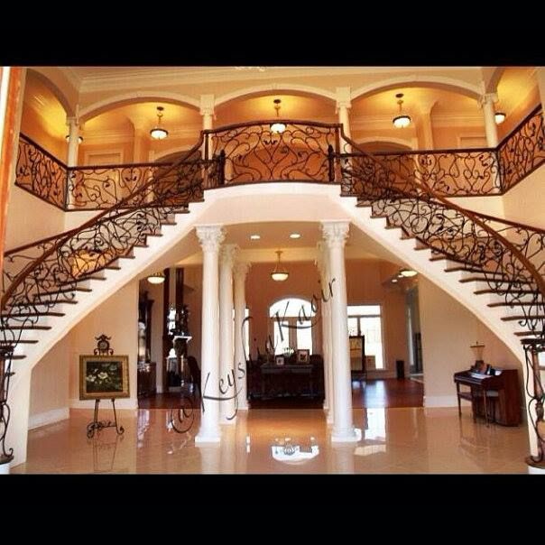 Inside Her House Stairs Beautiful Houses Interior Home
