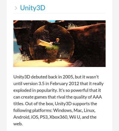 Unity 3D - development initiative for beginners.