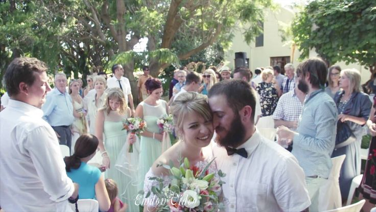 Veldskoene and clothes irons! The wedding video highlights of Chané & Evan